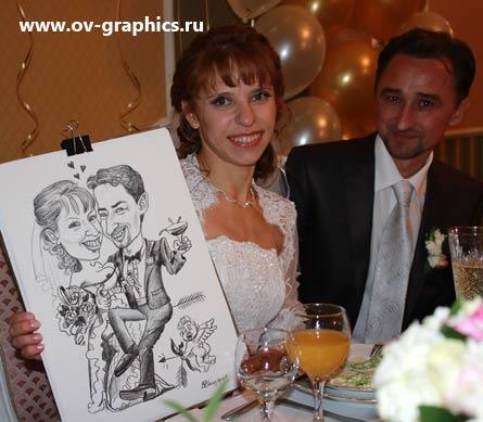 Юмористический подарок на свадьбу